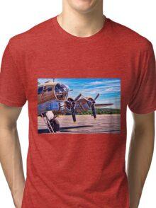Flying History Tri-blend T-Shirt
