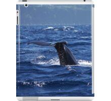 Pottwalfluke 1 / sperm whale tail 1 iPad Case/Skin