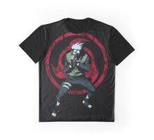 Red Sharingan of Kakashi Graphic T-Shirt