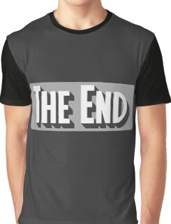 The End Classic Movie T Shirt Graphic T-Shirt