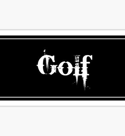 Golf - Sticker Sticker