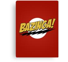 Bazinga! Canvas Print