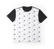 Flowers and Felines (Pattern) Graphic T-Shirt