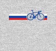 Bike Stripes Russia Unisex T-Shirt
