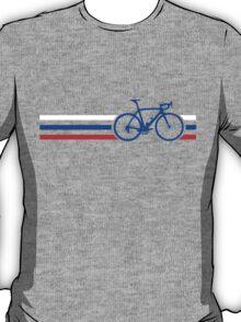 Bike Stripes Russia v2 T-Shirt