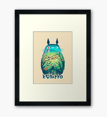 He is my Neighbor Framed Print