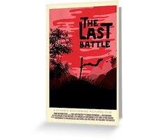 The Last Battle Greeting Card