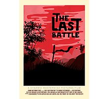 The Last Battle Photographic Print