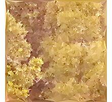 Dark Khaki Green Abstract Low Polygon Background Photographic Print