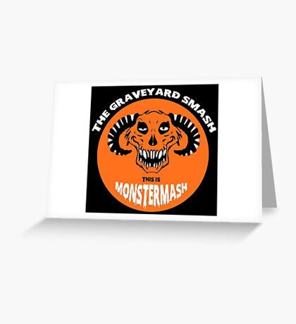 This is Monster Mash - Hell Demon Edition Greeting Card