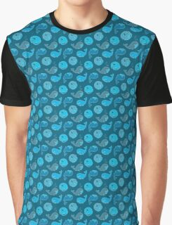 Whirly whales in the sea Graphic T-Shirt