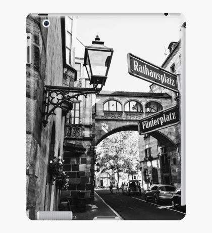 point of wiew of nuremberg iPad Case/Skin