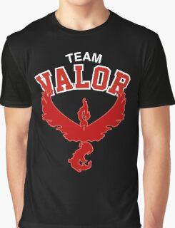 Team Valor Pokemon Go (NBA Style) Graphic T-Shirt