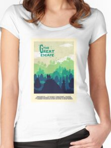 The Great Escape Women's Fitted Scoop T-Shirt