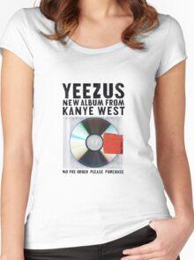 YEEZUS Women's Fitted Scoop T-Shirt