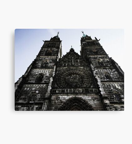 point of wiew of nuremberg Canvas Print