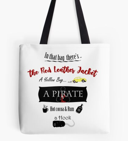 In that bag there's... CaptainSwan version Tote Bag