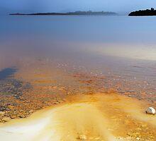 Iron-bearing Lake Pedder............. by Imi Koetz