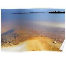 Iron-bearing Lake Pedder............. Poster