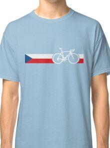 Bike Stripes Czech Republic Classic T-Shirt