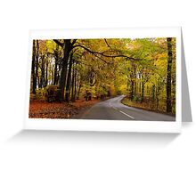 Cotswold Gold Greeting Card