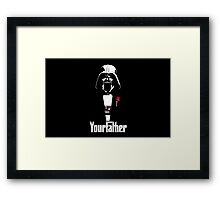 Darth Vader - Your Father Framed Print