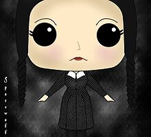 Wednesday Addams by SpaceWaffle