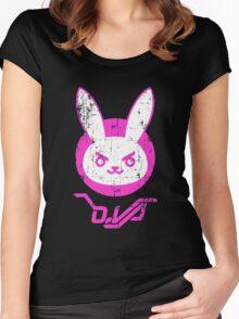 OVERWATCH D. VA Women's Fitted Scoop T-Shirt
