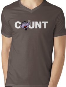 The Count Mens V-Neck T-Shirt