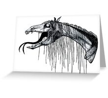 Thestral Greeting Card
