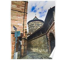 point of wiew of nuremberg Poster