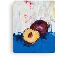 That Plum Looks Good Canvas Print