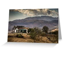 Andalusian landscape Greeting Card