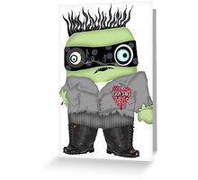 Zombie Monster Greeting Card
