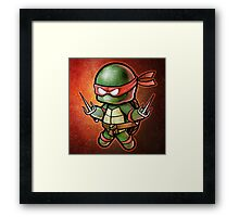 """""""Raph"""" POOTERBELLY Framed Print"""