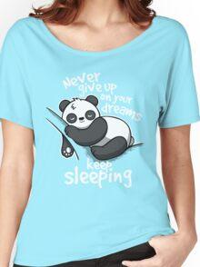 Panda keep sleeping Women's Relaxed Fit T-Shirt