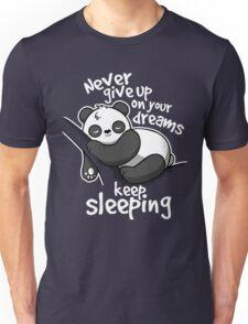 Panda keep sleeping Unisex T-Shirt