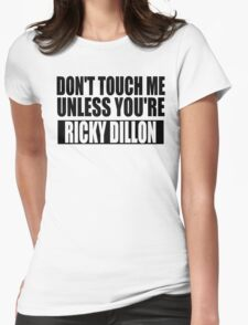 don't touch - RD Womens Fitted T-Shirt