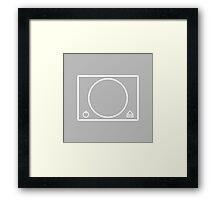 PlayStation minimal Framed Print