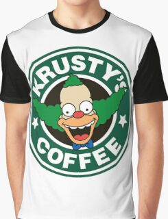 Krusty's Coffee Graphic T-Shirt
