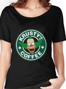 Krusty's Coffee Women's Relaxed Fit T-Shirt