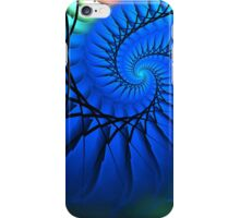 Motion in Blue iPhone Case/Skin