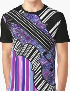 Study in the Key of Purple Graphic T-Shirt