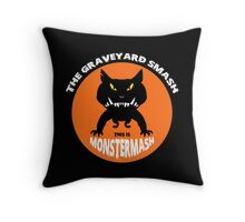 This is Monster Mash - Hell Hound Edition Throw Pillow
