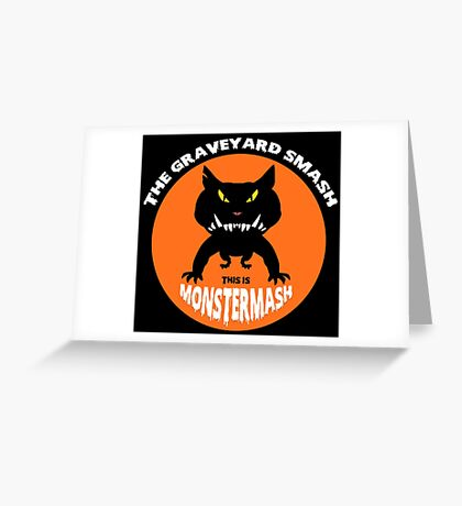 This is Monster Mash - Hell Hound Edition Greeting Card
