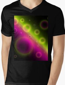 Bubbles Abstract Background Mens V-Neck T-Shirt