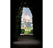 St. Peter Dome viewed from the Beautiful Garden Photographic Print