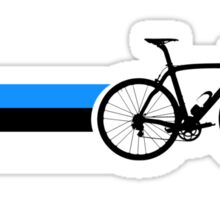 Bike Stripes Estonia Sticker