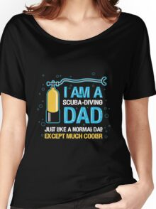 Dad - I'm A Scuba Diving Dad Women's Relaxed Fit T-Shirt