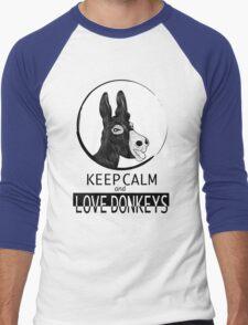 Love Donkeys Men's Baseball ¾ T-Shirt